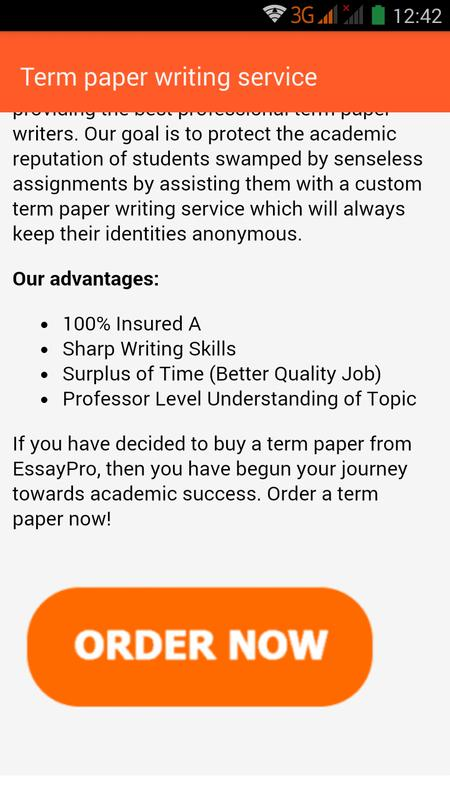 term paper  essay writing for android  apk download  term paper  essay writing screenshot