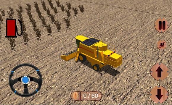 pertanian sim traktor bukit syot layar 4