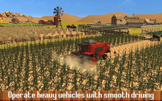 pertanian sim traktor bukit syot layar 17