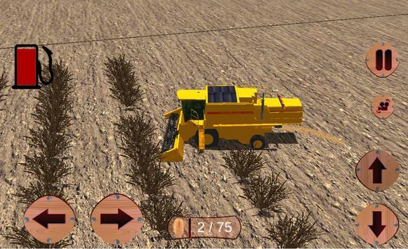 pertanian sim traktor bukit syot layar 22