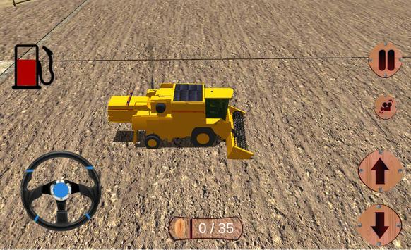 pertanian sim traktor bukit syot layar 2