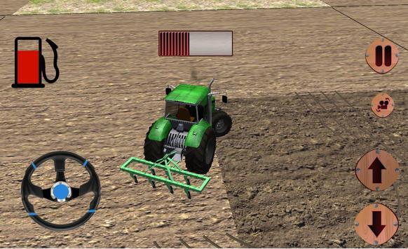 pertanian sim traktor bukit syot layar 3