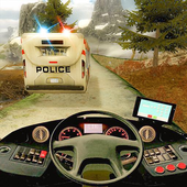 Police Bus Hill Climb Driver icon