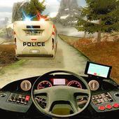 Police Bus Hill Climb Driver icon