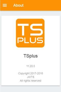 TSplus screenshot 3
