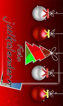 Fotojulkalendern poster