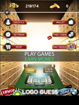 MoneyMaker : Play -> Earn Money screenshot 3