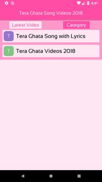 Tera Ghata Song Videos 2018 For Android Apk Download