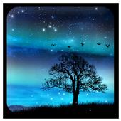 Aurora Free Live Wallpaper आइकन