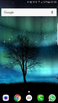 Aurora Free Live Wallpaper स्क्रीनशॉट 1