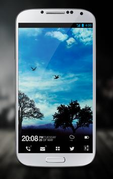 Blue Sky Free Live Wallpaper poster