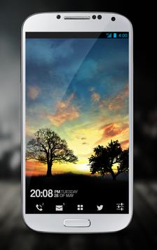 Sunset Hill Free LiveWallpaper poster