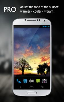 Sunset Hill Free LiveWallpaper apk screenshot