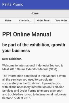 PPI Online Manual apk screenshot