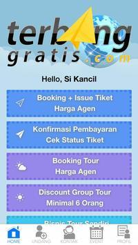 TerbangGratis apk screenshot