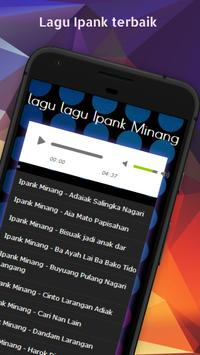 Lagu Minang Ipank Mp3 apk screenshot