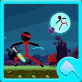 STICKMAN Warrior Adventure icon