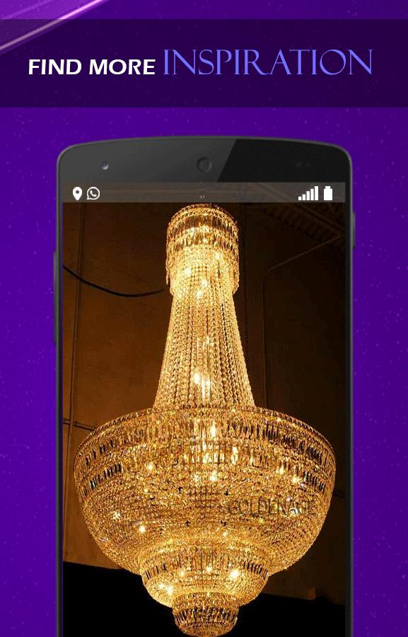 Crystal Lamp Design poster