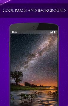Starry Sky wallpaper for S8 apk screenshot
