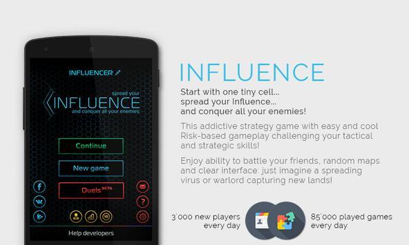 Influence (Влияние) постер
