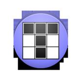 Minimalistic brick game icon