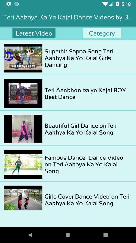 Teri aakhya ka yo kajal original song