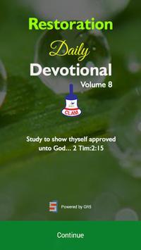 Restoration Devotional screenshot 5
