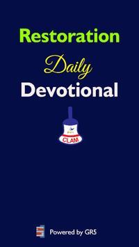 Restoration Devotional poster