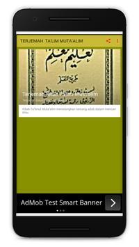 Terjemah Kitab Ta'lim Muta'alim screenshot 1