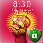 Flag of Kyrgyzstan Lock Screen & Wallpaper icon
