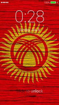 Flag of Kyrgyzstan Lock Screen & Wallpaper screenshot 4