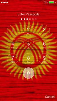 Flag of Kyrgyzstan Lock Screen & Wallpaper screenshot 5
