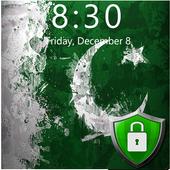 Flag of Pakistan Lock Screen & Wallpaper icon