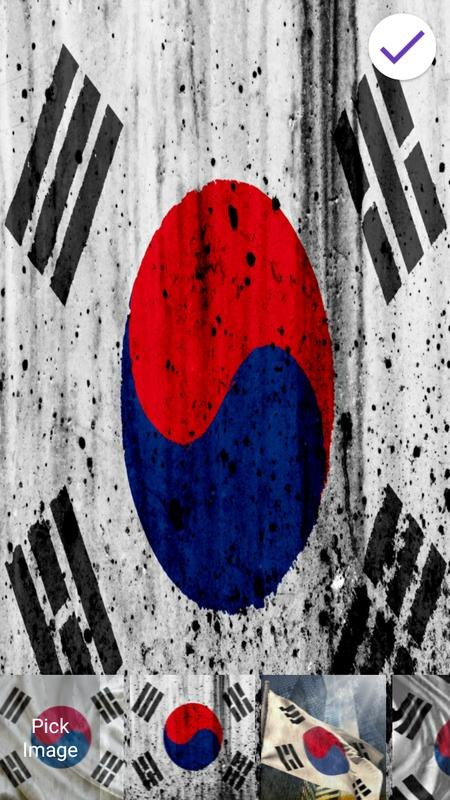 Flag Of South Korea Lock Screen Wallpaper For Android Apk Download