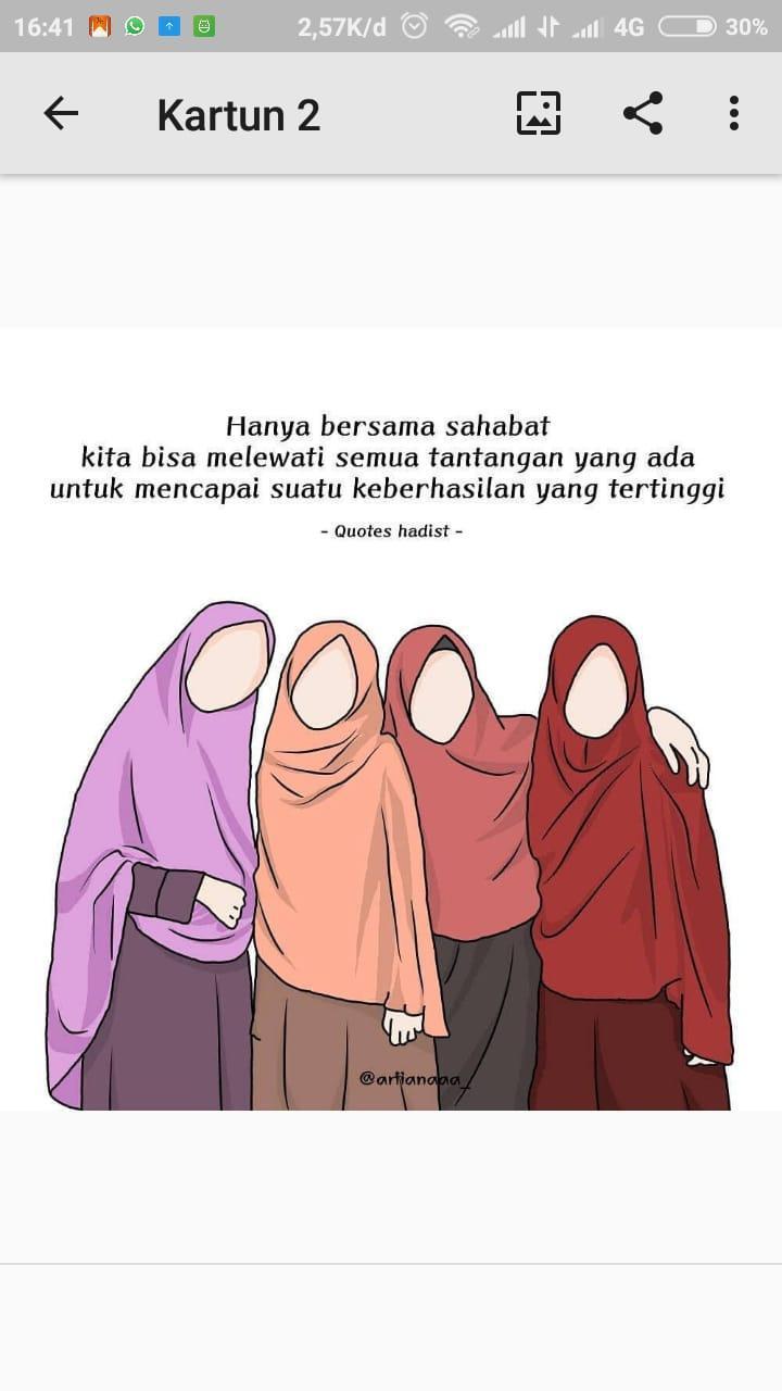 Anime Muslimah 3 Sahabat Anime Wallpapers