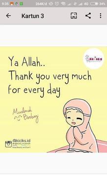 Kartun Muslimah Hijrah screenshot 3