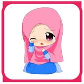Muslimah Kartun icon