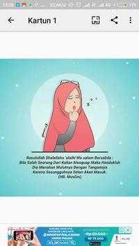 Muslimah Kartun poster