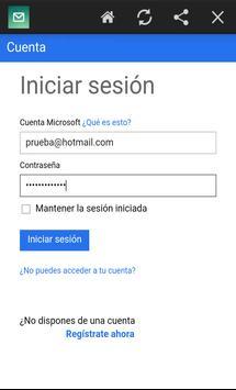 Outlook Mail screenshot 2