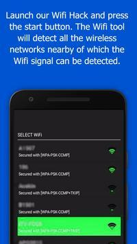 wifi password hacker: (Prank) apk screenshot