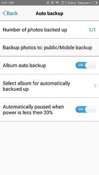 TNAS mobile apk screenshot