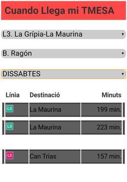 TMESA Terrassa - Cuando Llega screenshot 2