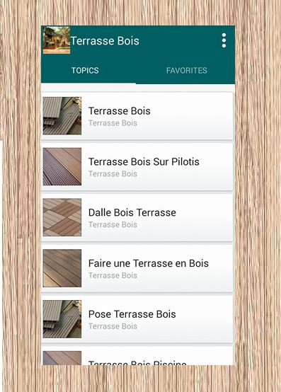 Terrasse Bois For Android Apk Download