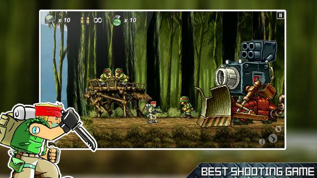 Terrorist Hunter: Metal Rambo Soldier Slugs screenshot 3