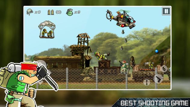 Terrorist Hunter: Metal Rambo Soldier Slugs screenshot 1
