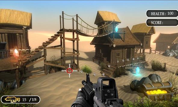 Top Sniper Shooting Game 2019 screenshot 1