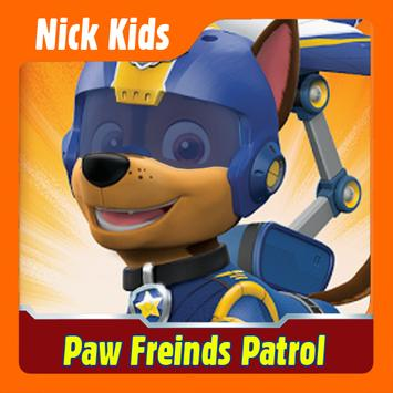 Paw Friend's Patrol Adventure Games poster