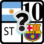 4 sign  1 footballer icon