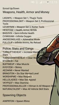 GTA SA Cheats screenshot 1
