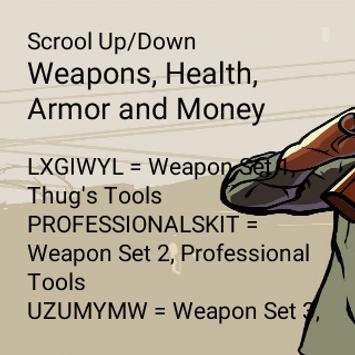 GTA SA Cheats screenshot 4